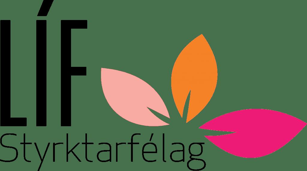 Líf styrktarfélag logo